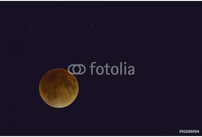 Red Super Moon 64239