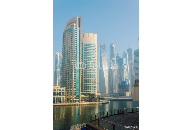 High rise buildings and streets in Dubai, UAE 64239
