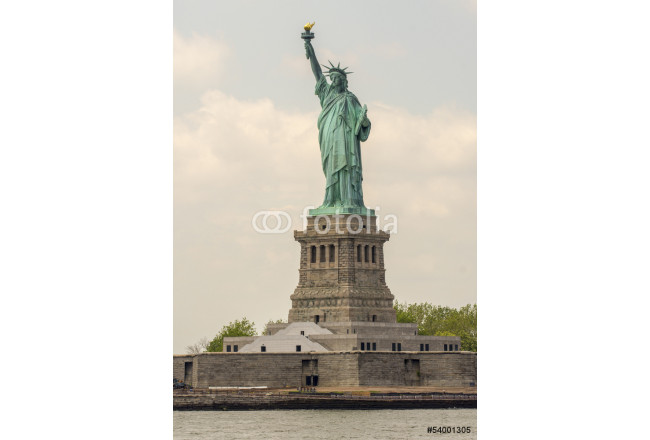 The Statue of Liberty - New York City. View form Hudson river on 64239