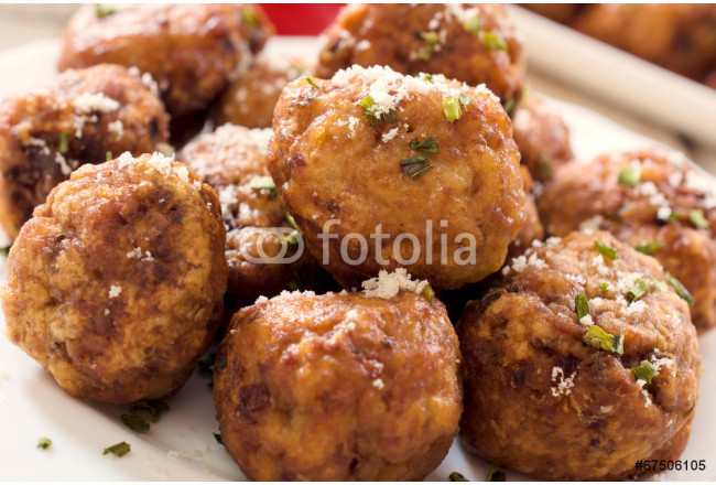 Grup of meat balls 64239