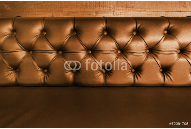 background with close-up of  dark brown  leather seal 64239