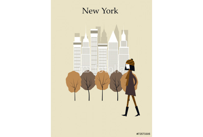 Woman in New York 64239