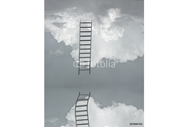 Ladder and flood 64239