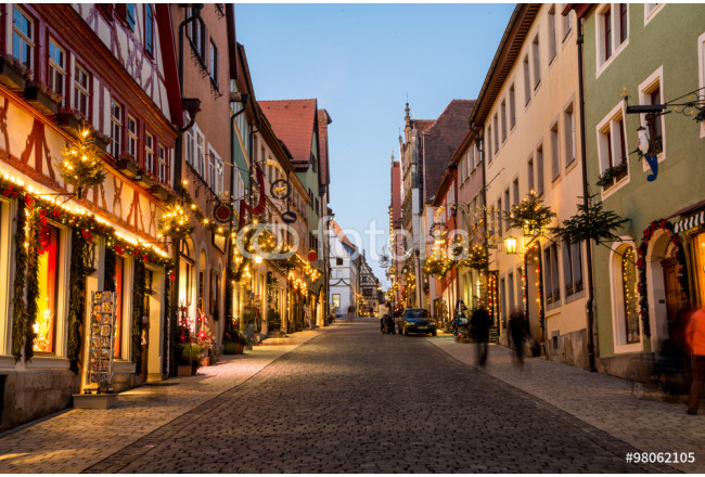 Rothenburg - medieval town in Germany 64239