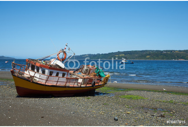 Fishing Boat on the Island of Chiloe 64239