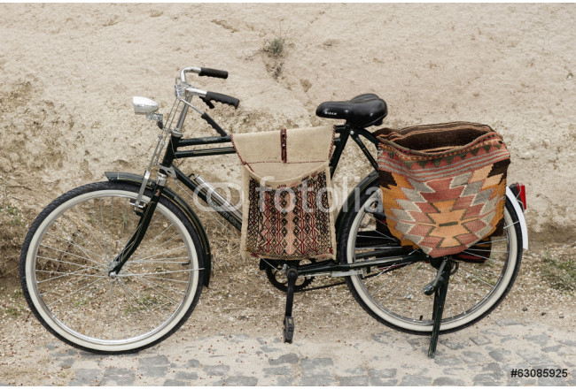 bicycle with bags 64239