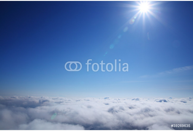 sea of clouds and sun 64239