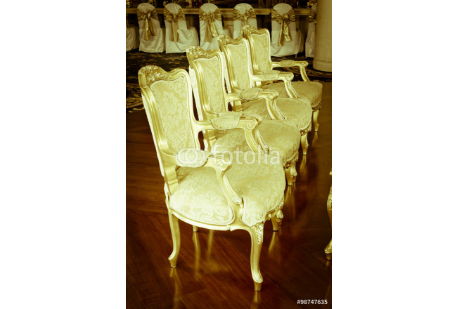 Stock Photo: .classical style Armchair sofa couch in vintage roo 64239