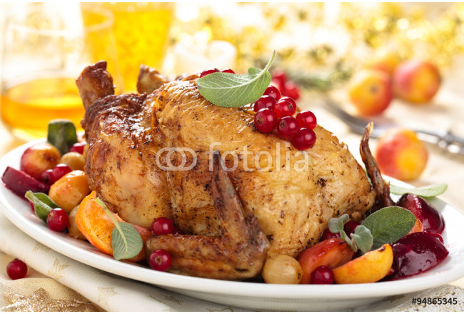 Whole grilled chicken. 64239