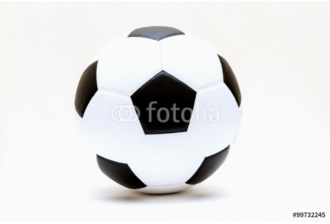 football and soccer ball isolated on white 64239