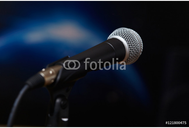 microphone in concert hall or conference room 64239