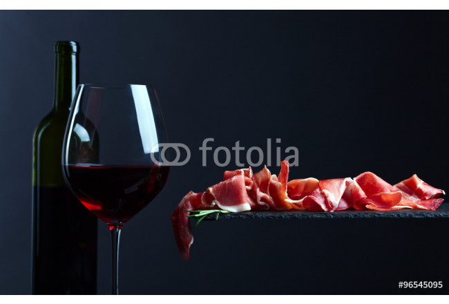 jamon with red wine 64239