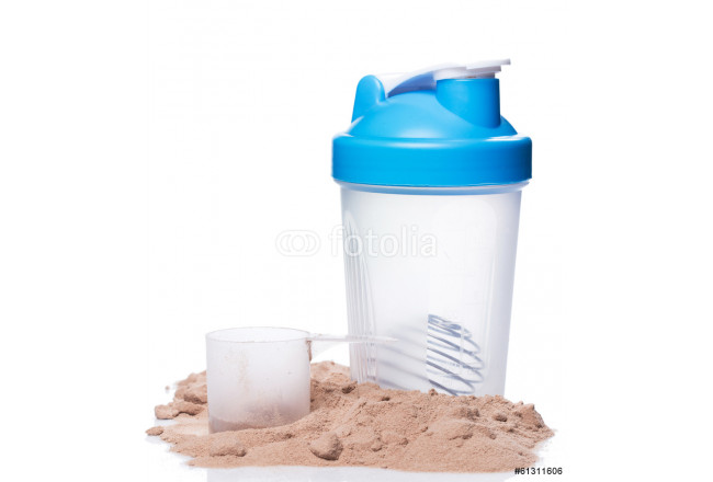 Shaker and protein powder 64239