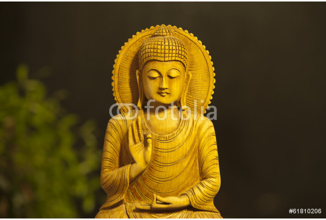 Bilder auf Leinwand XXL Wandbild Poster Kunstdruck Buddha 80 cm*40 cm 103