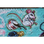 Grafitti Mouse & Cup 64239
