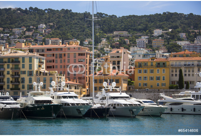 Port of Nice - Cote d'Azur - South of France. 64239
