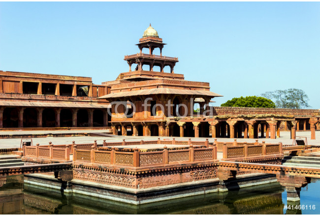 Fatehpur Sikri, India, built by the great Mughal emperor, Akbar 64239