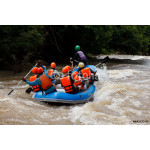 Rafting in the river in north of Thai 64239