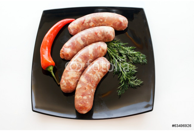 raw sausages 64239