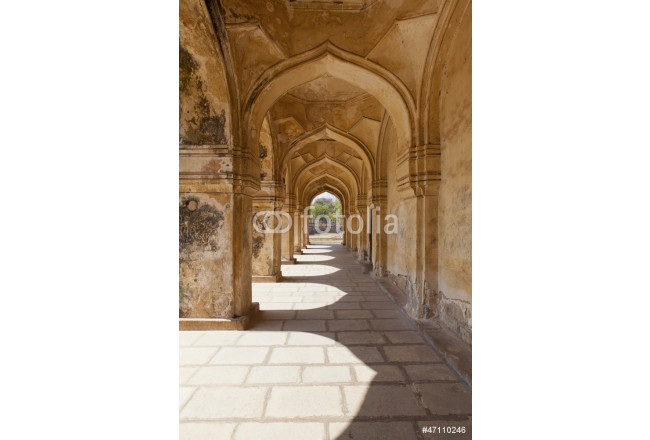 Arches in Qutb Shahi Tombs in Hyderabad 64239