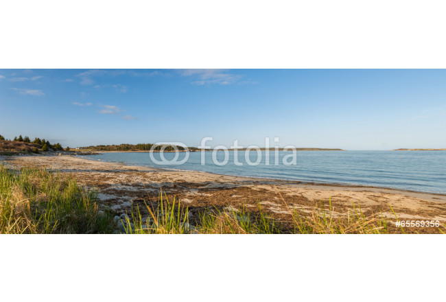Panorama of  Sandy Beach 64239