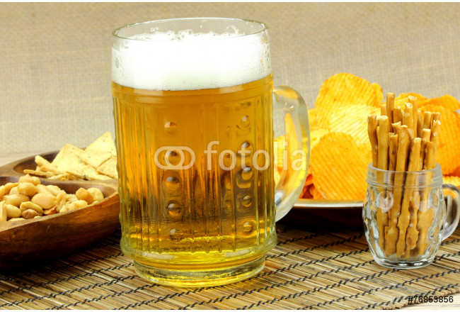Cuadro decorativo Beer with foam snack 64239