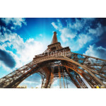 Paris. Beautiful view of Eiffel Tower with sky sunset colors 64239