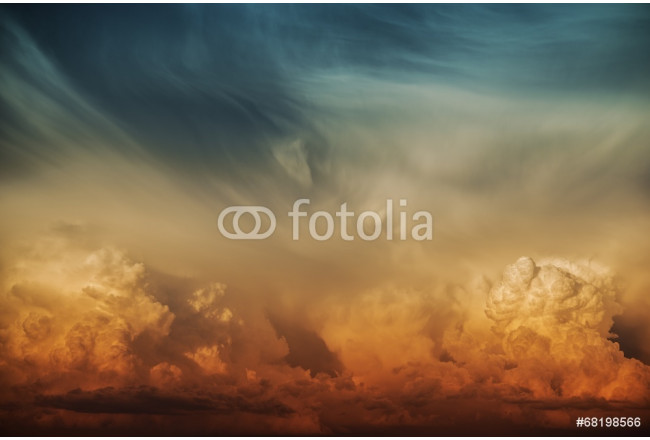 Stormy Cloud Nature Backdrop 64239