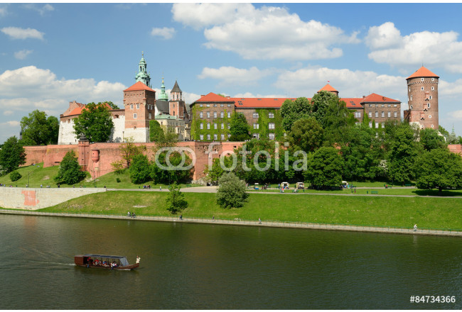 Wawel Castle, Royal palace in Cracow 64239