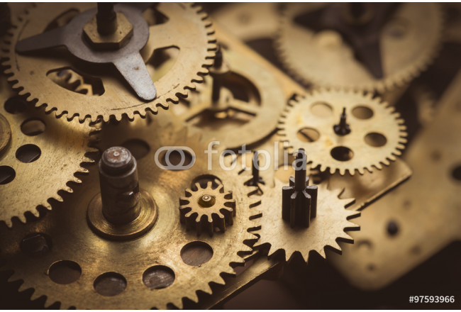 Painting Gears and cogs macro 64239