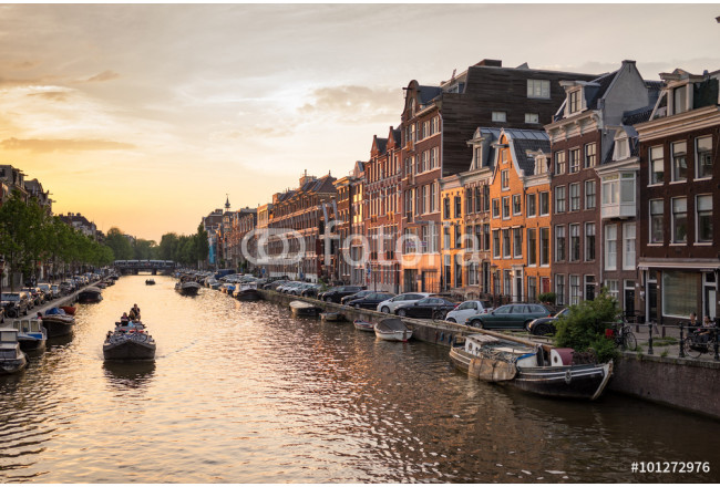 Prinsengracht Amsterdam Canal 64239