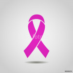 Breast Cancer Awareness Ribbon Background. stock vector 64239