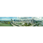 Singapur Panorama from above 64239