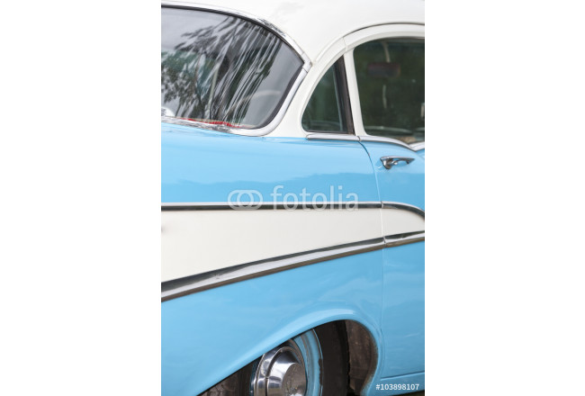 Cuadro decorativo American vintage car, side vi 64239