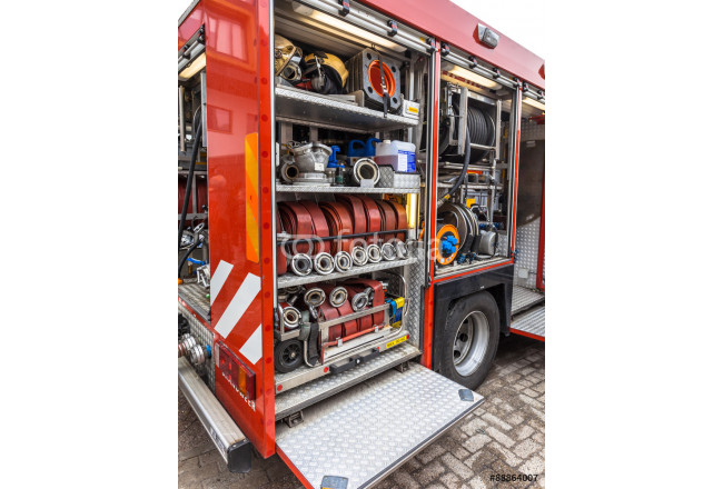 Inventory of a Fire Engine 64239