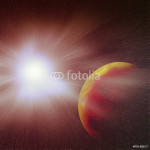A nova is a cataclysmic nuclear explosion on a white dwarf.Image 64239