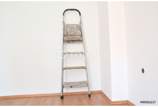 Ladder on wall 64239