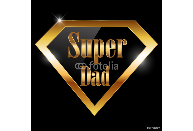 happy fathers day, super dad greeting card 64239