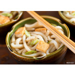 Udon Noodles with Tofu and Green Onion 64239