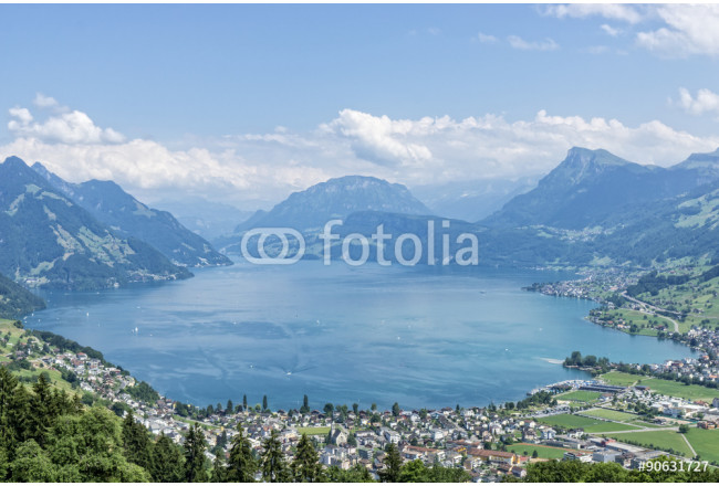 Lake lucerne top view 64239