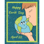 Happy Earth day banner poster 64239