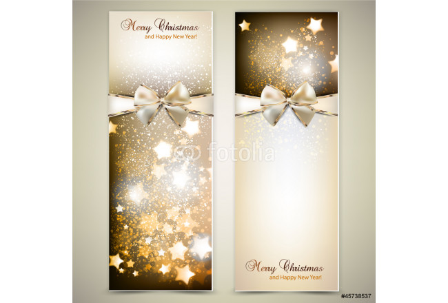 Greeting cards with white  bows and copy space. Vector illustrat 64239