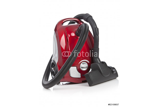 Vacuum cleaner isolated on white background 64239