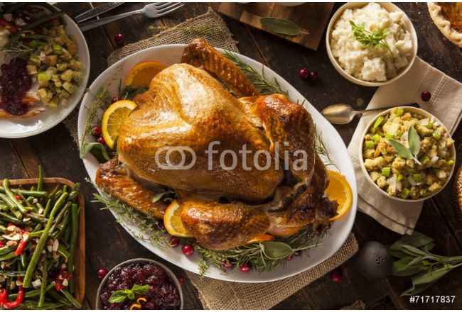Whole Homemade Thanksgiving Turkey 64239