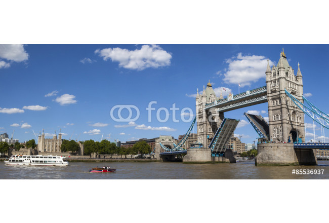 Tower Bridge, Tower of London and the River Thames 64239