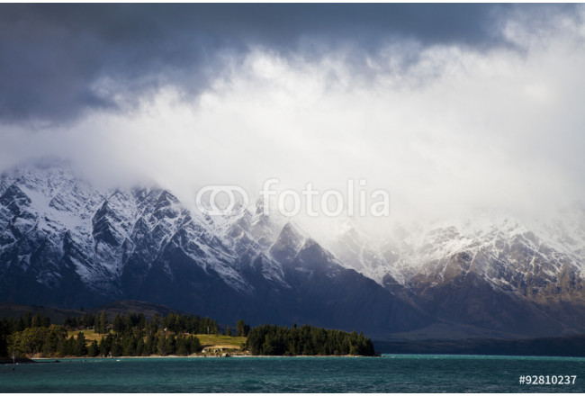 The Remarkables mountain range, New Zealand 64239