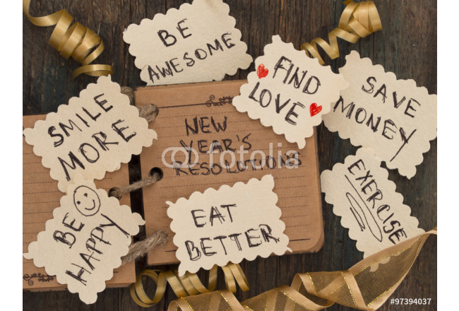 New Year's resolutions 64239