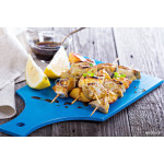 Grilled pork kabobs with peaches 64239
