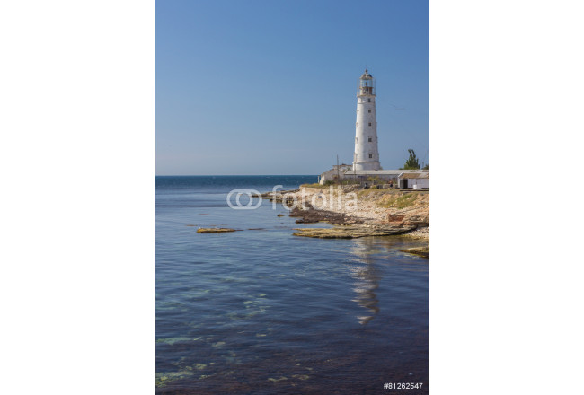 lighthouse Tarkhankut in the western part of crimea 64239