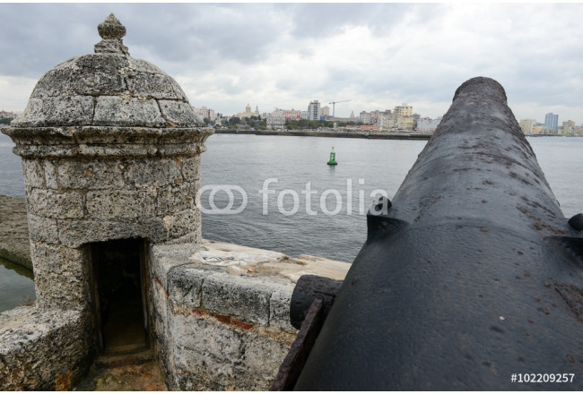 El Morro fortress with the city of Havana in the background 64239